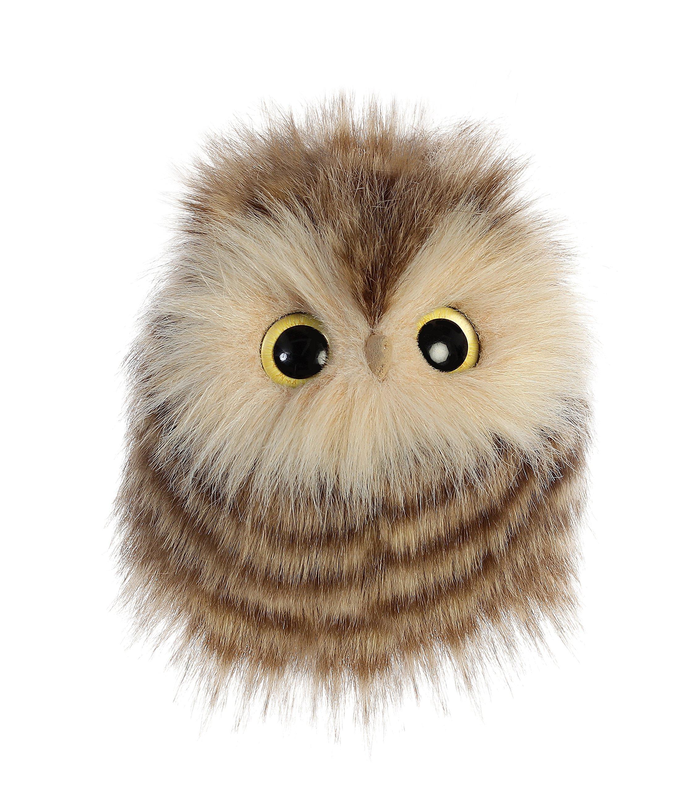 """Aurora - Luxe Boutique - 5"""" Aldora Owl, Brown"""