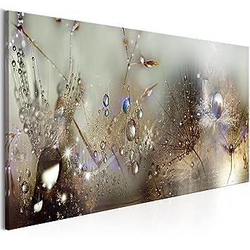 Murando   Bilder Pusteblume 120x40 Cm   Vlies Leinwandbild   1 Teilig    Kunstdruck   Modern