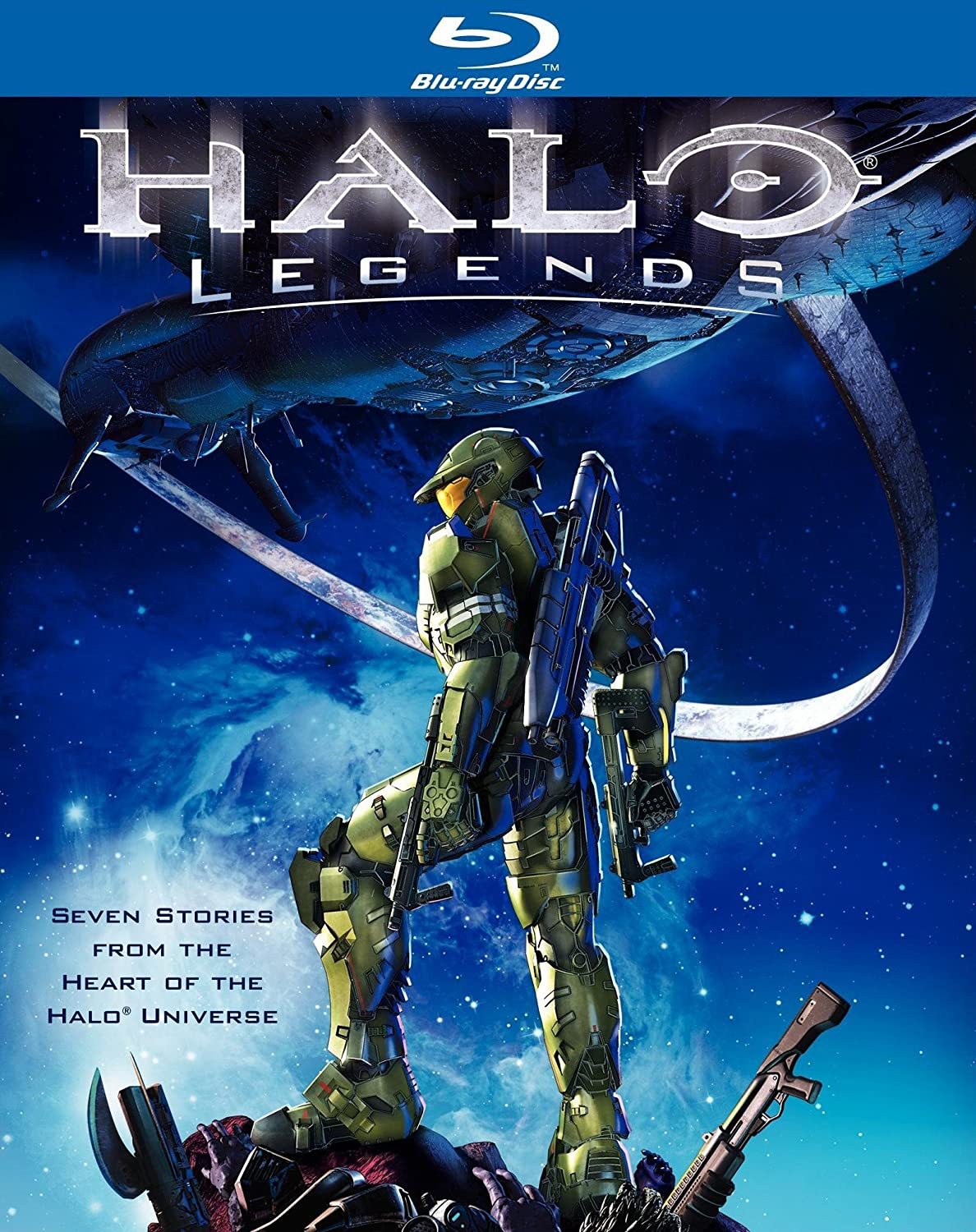 Halo legends [Blu-ray]: Amazon.es: Shinji Aramaki, Mamoru Os: Cine y Series TV
