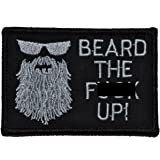 Beard The F Up 2x3 Patch - Black