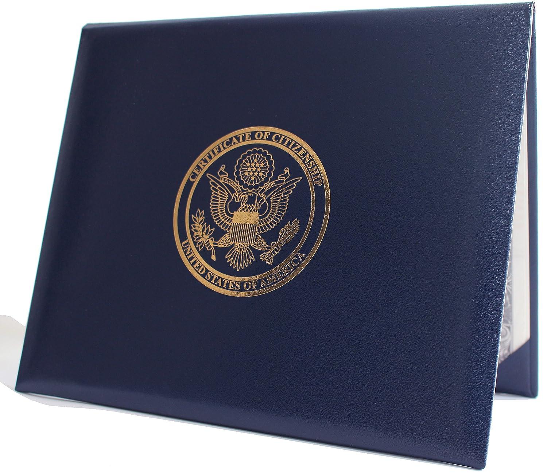 Amazon Us Citizenship And Naturalization Certificate Padded