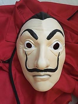 Komete Máscara/Mask Salvador Dali - Casa de Papel (Látex 100% Natural): Amazon.es: Juguetes y juegos
