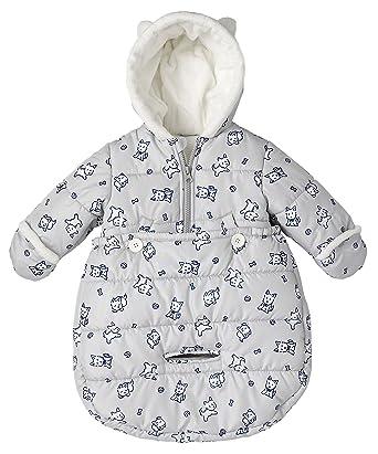20bf6a899 Amazon.com  London Fog Newborn Infant Baby Girl Boy Puffer Carbag ...