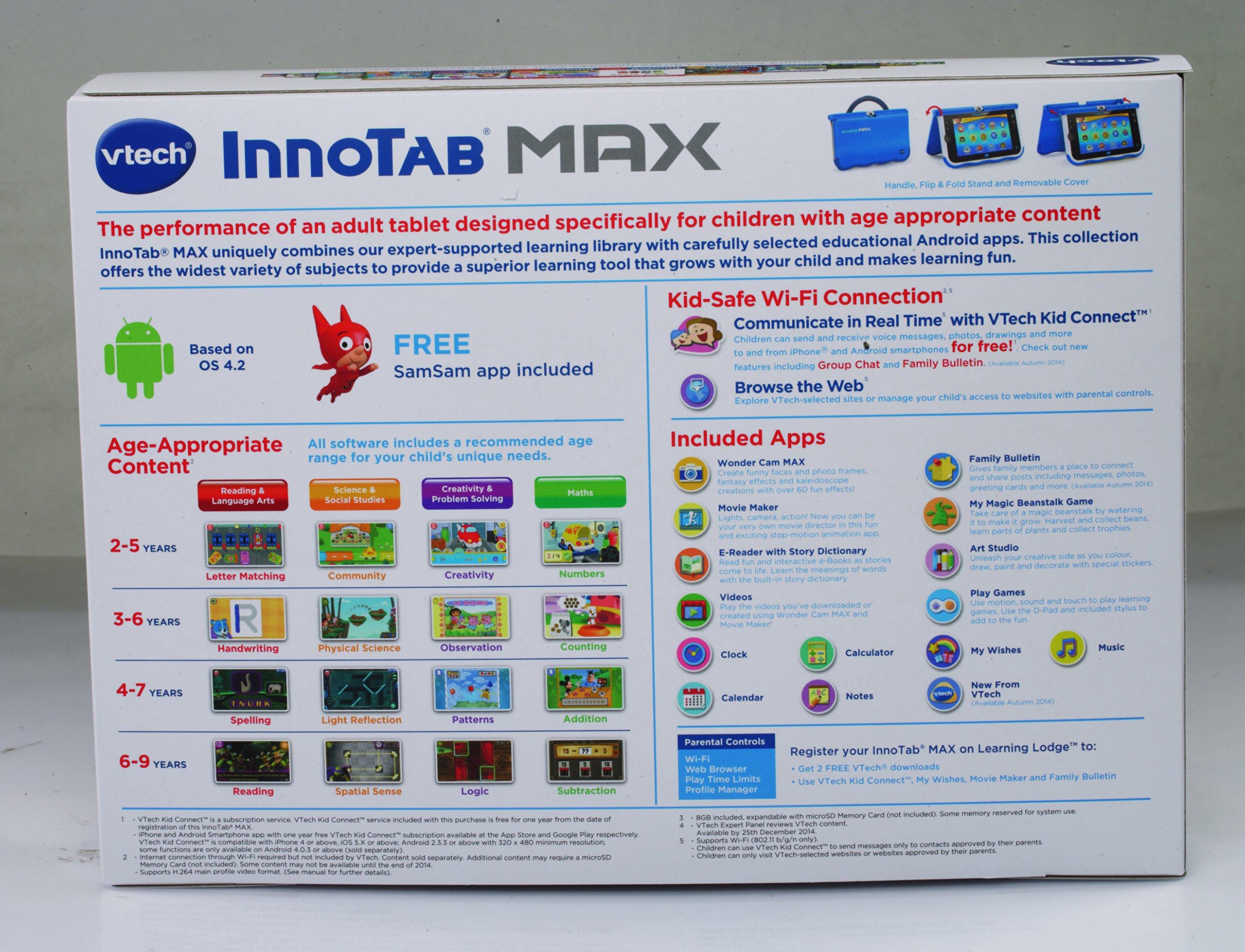 Innotab 7-inch Max (Blue) by Innotab (Image #10)