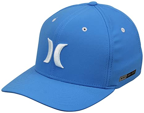 7bb937f6abe Amazon.com  Hurley Dri-Fit One and Color Hat - Light Photo Blue - L ...