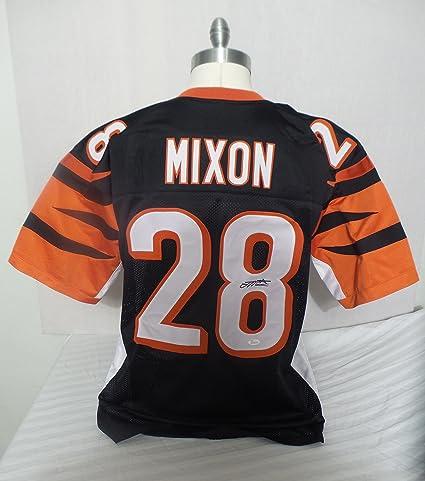 huge discount 4af8a 0685a Joe Mixon Signed Cincinnati Bengals Black Autographed Jersey ...