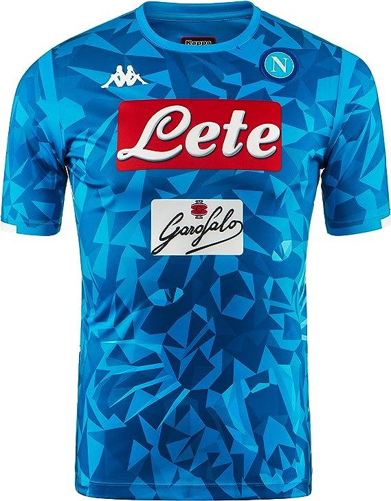 SSC Napoli Camiseta de juego local réplica: Amazon.es: Ropa y ...