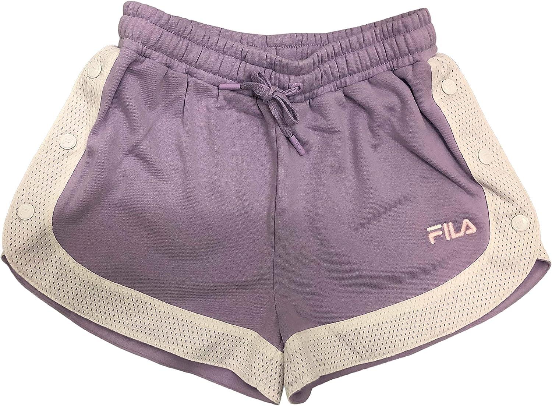 Fila Danita Side Snap - Pantalones Cortos para Mujer: Amazon.es ...