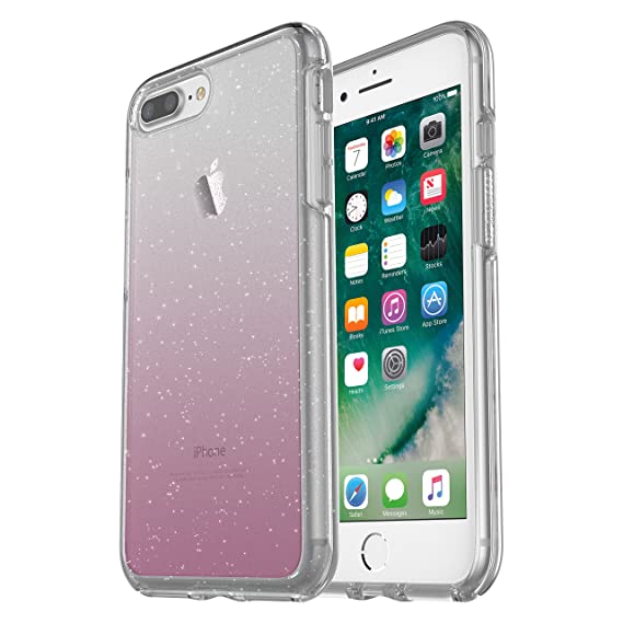 the best attitude f7925 6f5ce OtterBox SYMMETRY CLEAR SERIES Case for iPhone 8 Plus & iPhone 7 Plus  (ONLY) - Retail Packaging - Hello Ombré