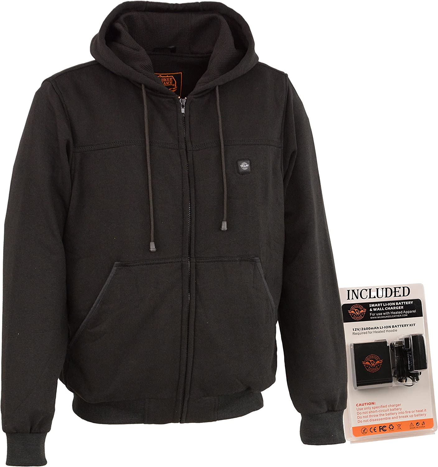 Battery Pack Included Milwaukee Performance Heated Soft Shell Mens Water Resistant Jacket BLACK, XLarge