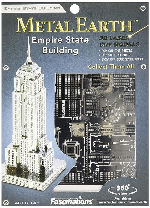 9 2 1 3d X 97 17 Cm Earth 91 Building 3 State Empire 5061010 Pièce Maquette Architecture Metal 0nmN8w
