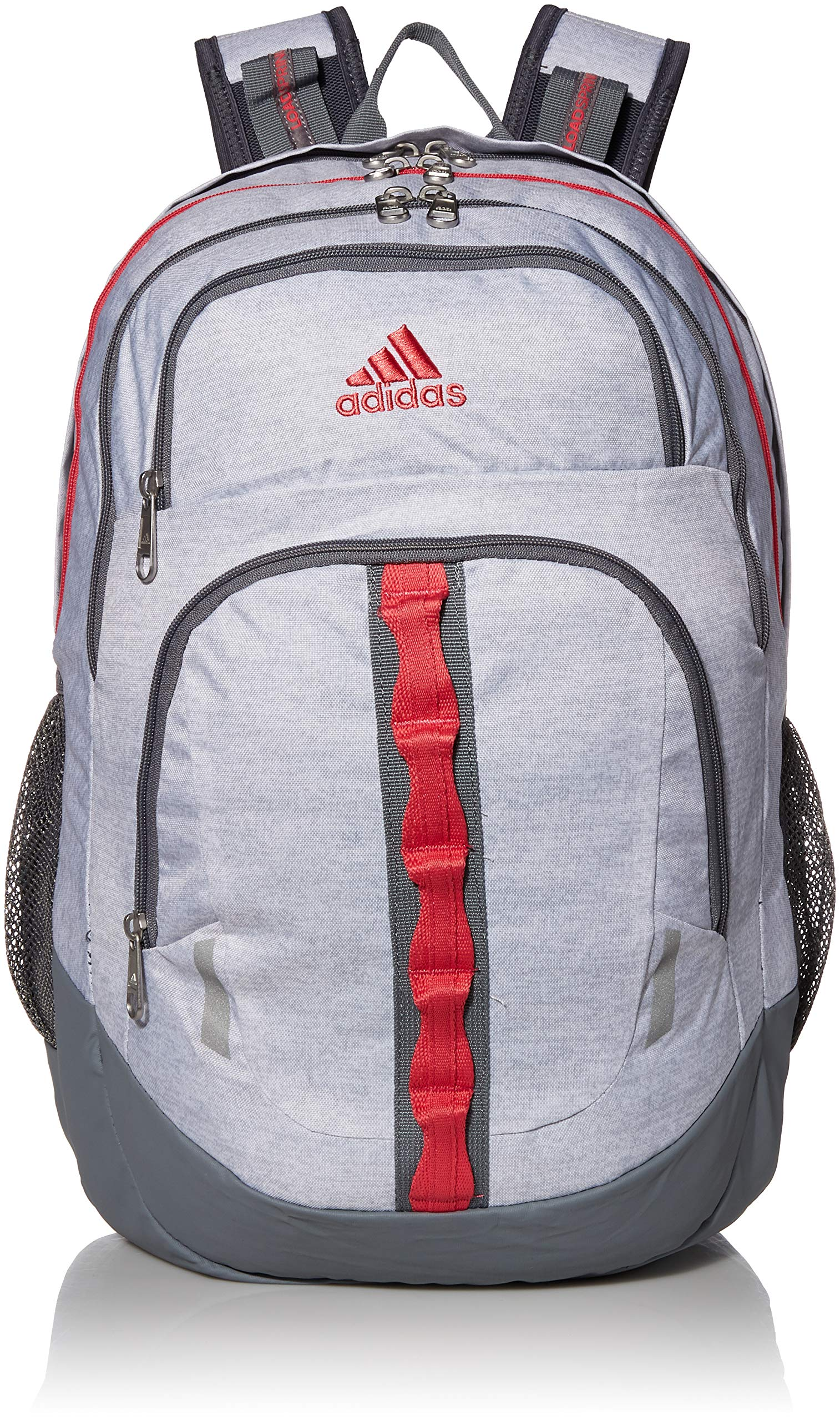 adidas Unisex Prime Backpack, Jersey White/Real Pink/Grey, ONE SIZE by adidas