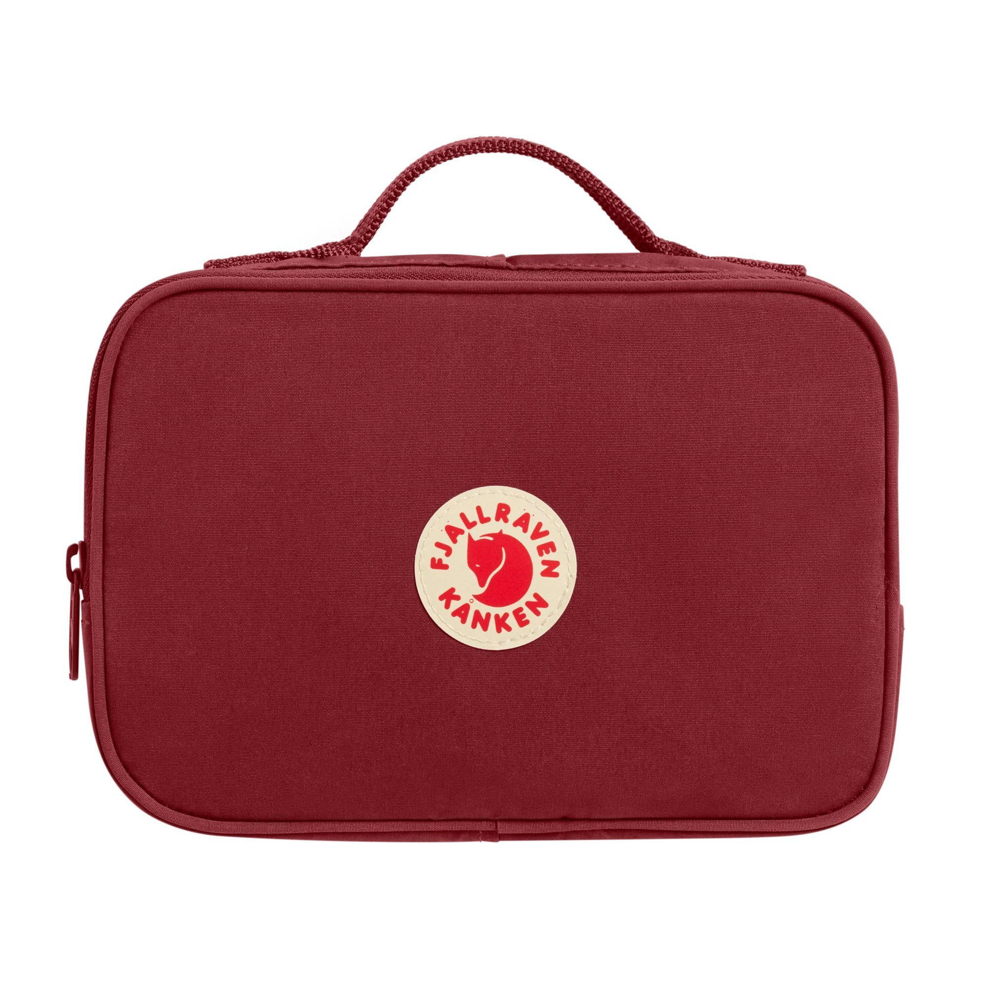 Fjallraven - Kanken Toiletry Bag for Home and Travel, Ox Red