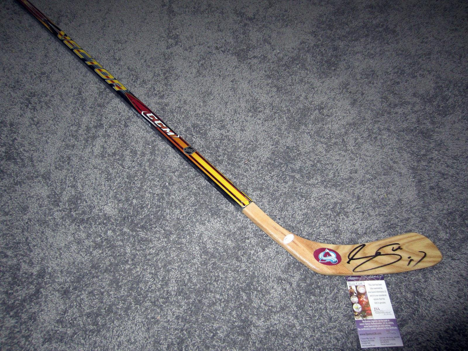 Joe Sakic Signed Hockey Stick w COA JSA Certified Autographed NHL Sticks