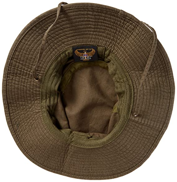 Amazon.com   Henschel Men s Washed Boony - Packable Washed Cotton W self  Chin Cord   Fishing Hats   Sports   Outdoors 5664562f25d7