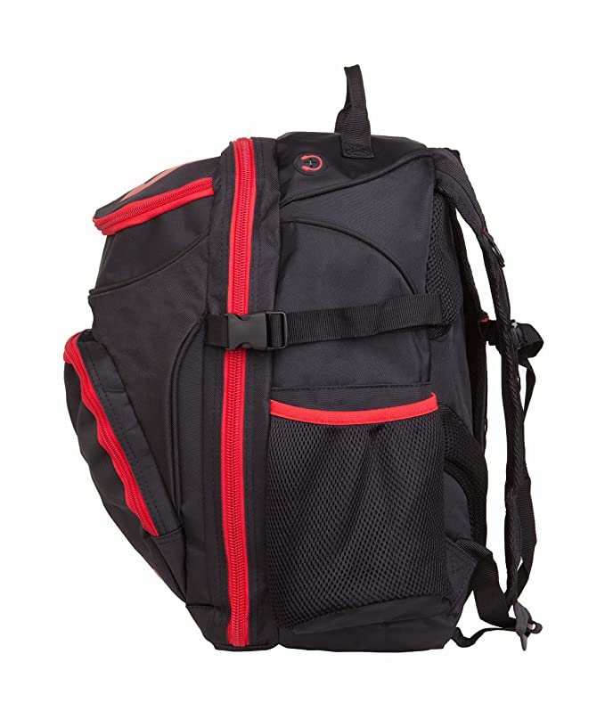 Coreevo - Triathlon Bag Compaq, Color Black/Red: Amazon.es: Deportes y aire libre