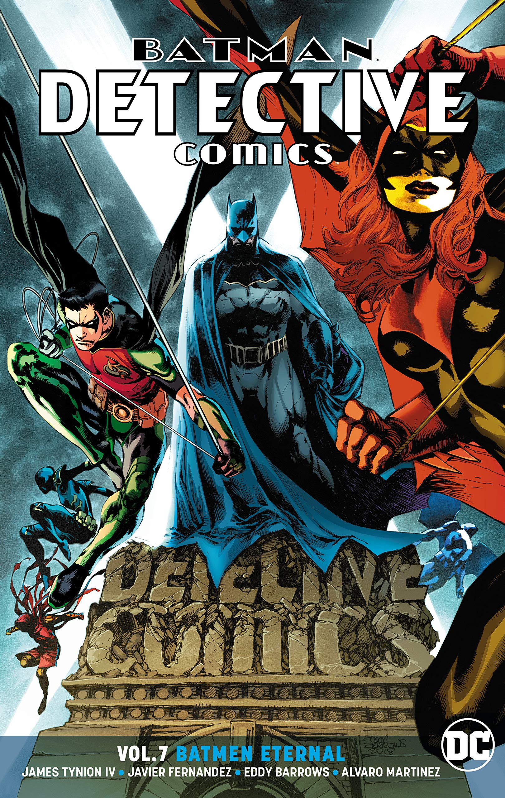 Image result for Batman Detective Comics Vol. 7 Batman Eternal