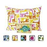 Amazon Price History for:Little Sleepy Head Toddler Pillowcase - Utopia Collection: Pink Giraffes, 13 X 18