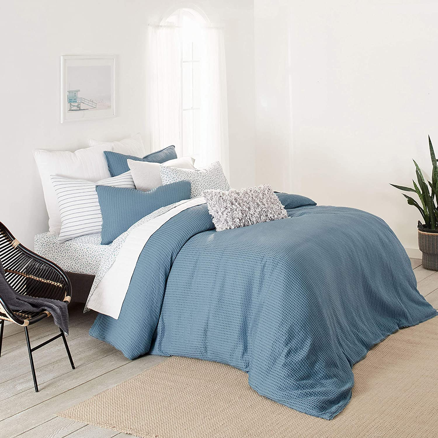 Splendid Home Topanga Comforter Set, Twin, Teal