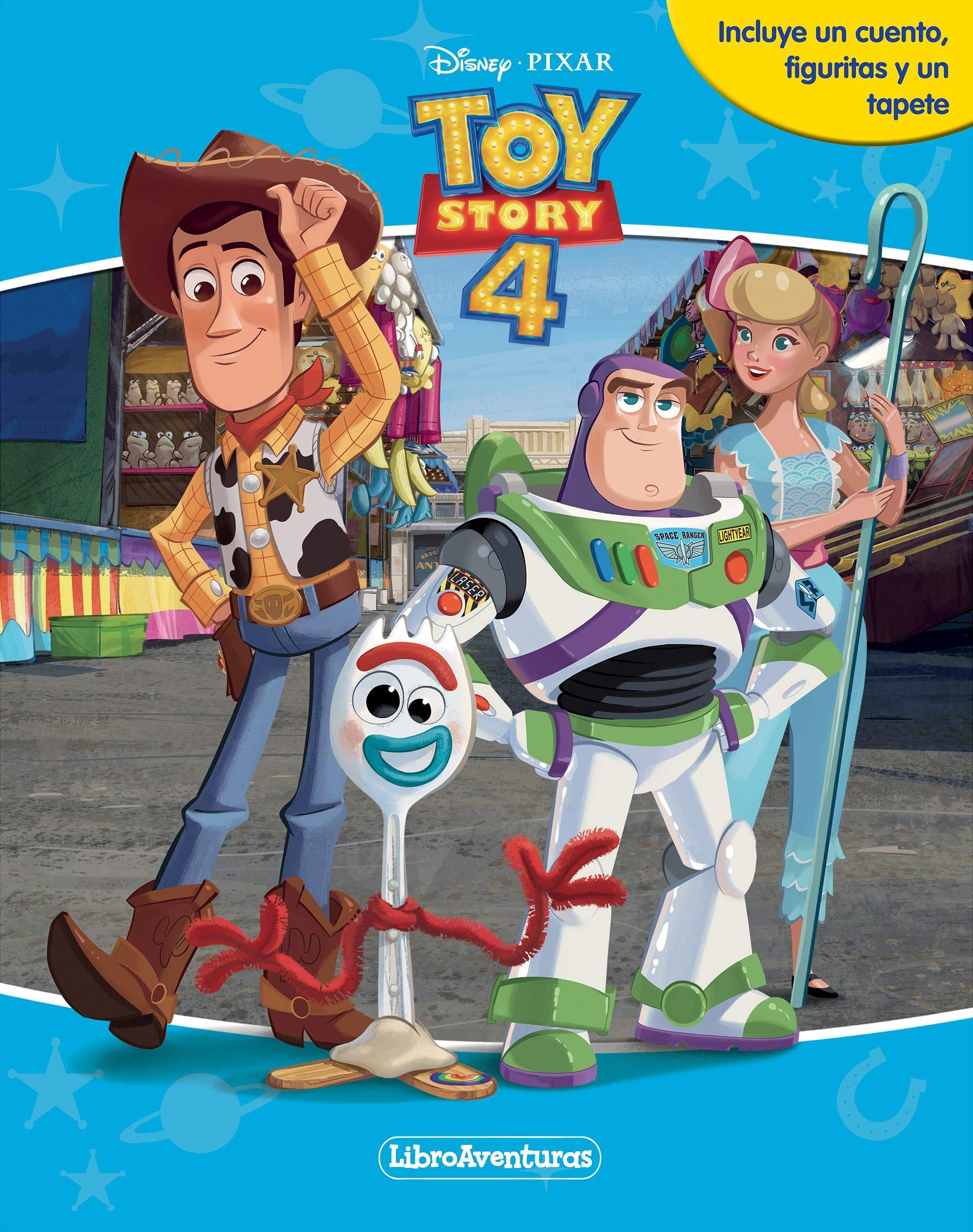 Toy Story 4. Libroaventuras: Libro-juego. Incluye un tablero y figuras para jugar
