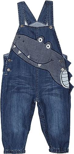Baby Neugeborenes Jungen M/ädchen Jeans Latzhose Strampler Weiche Baumwolle Denim Hose f/ür Fr/ühling Sommer Cartoon Nilpferd Gr/ö/ße 56//62//68//74//80//86