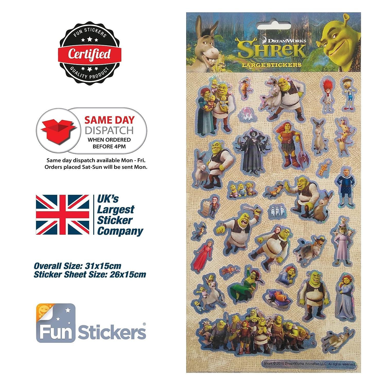 Shrek Stickers Large 2001