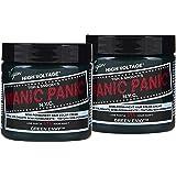 Manic Panic Green Envy Hair Dye - Classic High Voltage - (2PK) Semi Permanent Hair Color - Deep Emerald Green Dye with…