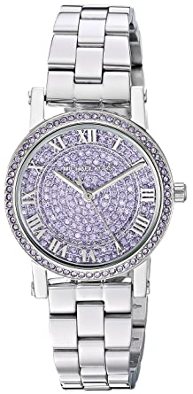 c8bf7126d268 Michael Kors Women s Norie Analog-Quartz Watch with Stainless-Steel Strap