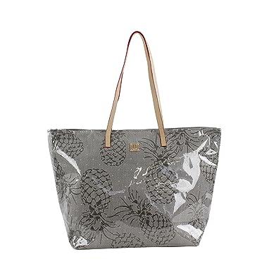 For Time Pineapple, Bolsa de tela y de playa para Mujer, 1 x ...