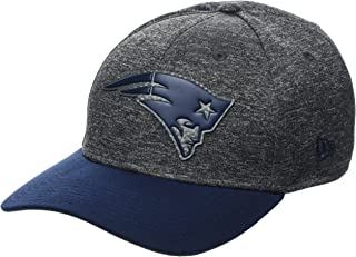 New Era Hommes 39THIRTY Shadow Tech Nfl Casquette New England Patriots Gris