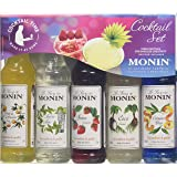 Monin Cocktail Syrup Gift Set 5x5cl