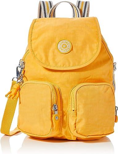 Puno Sencillez horario  Kipling Firefly Up, Mochilas para Mujer, Amarillo (Vivid Yellow), 22x31x14  cm: Amazon.es: Ropa y accesorios