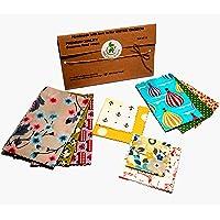 Envolturas de cera de abejas, juego de 10, colores aleatorios, BEE Zero Waste, UK HANDMADE, alternativa natural a la…
