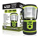 Tough Light LED Rechargeable Lantern - 200 Hours of Light from a Single Charge, Longest Lasting on Amazon! Camping and Emergency Light with Phone Charger - 2 Year Warranty (Yellow) (Color: Yellow)