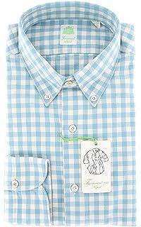 Serica Elite Hidden Button Down Collar Maroon Dot Sportshirt