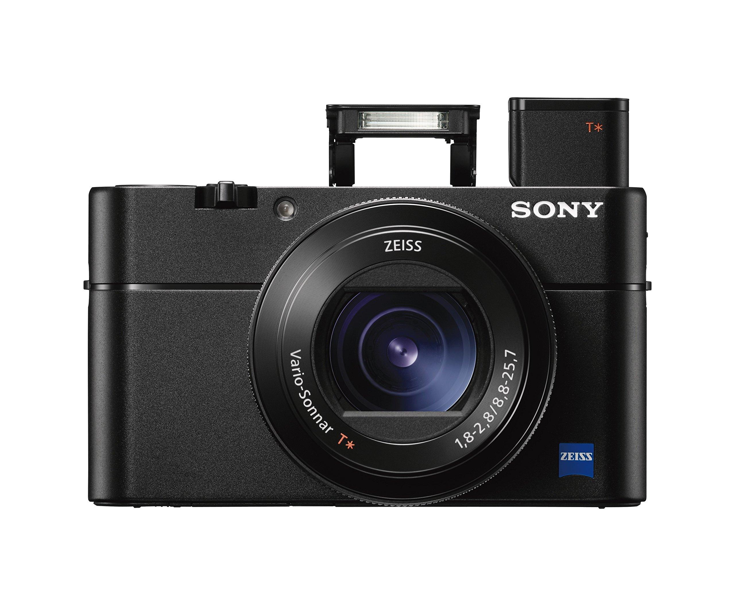 "Sony Cyber-shot DSC-RX100 V 20.1 MP Digital Still Camera with 3'' OLED, flip screen, WiFi, and 1"" sensor"