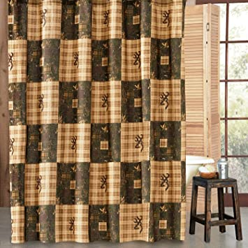 Browning Country Shower Curtain