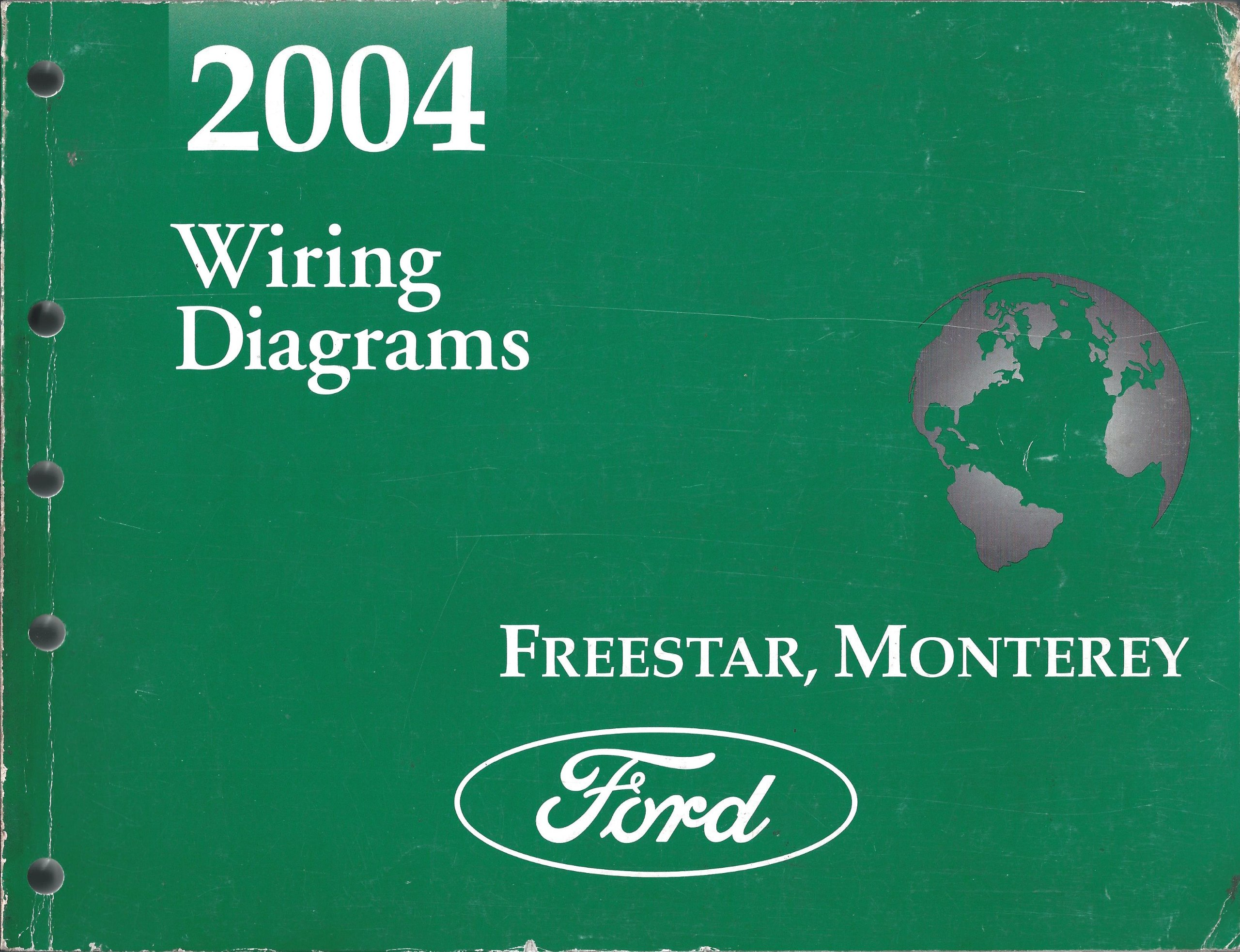 2004 Freestar And Monterey Wiring Diagram Ford Motor Company 04 Books