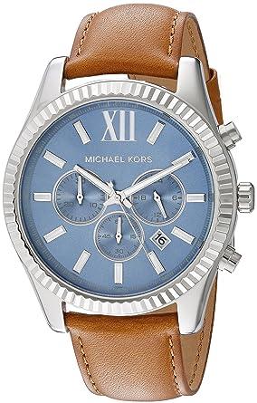 96db446f513b Image Unavailable. Image not available for. Colour  Michael Kors Men s  Lexington Brown Watch MK8537