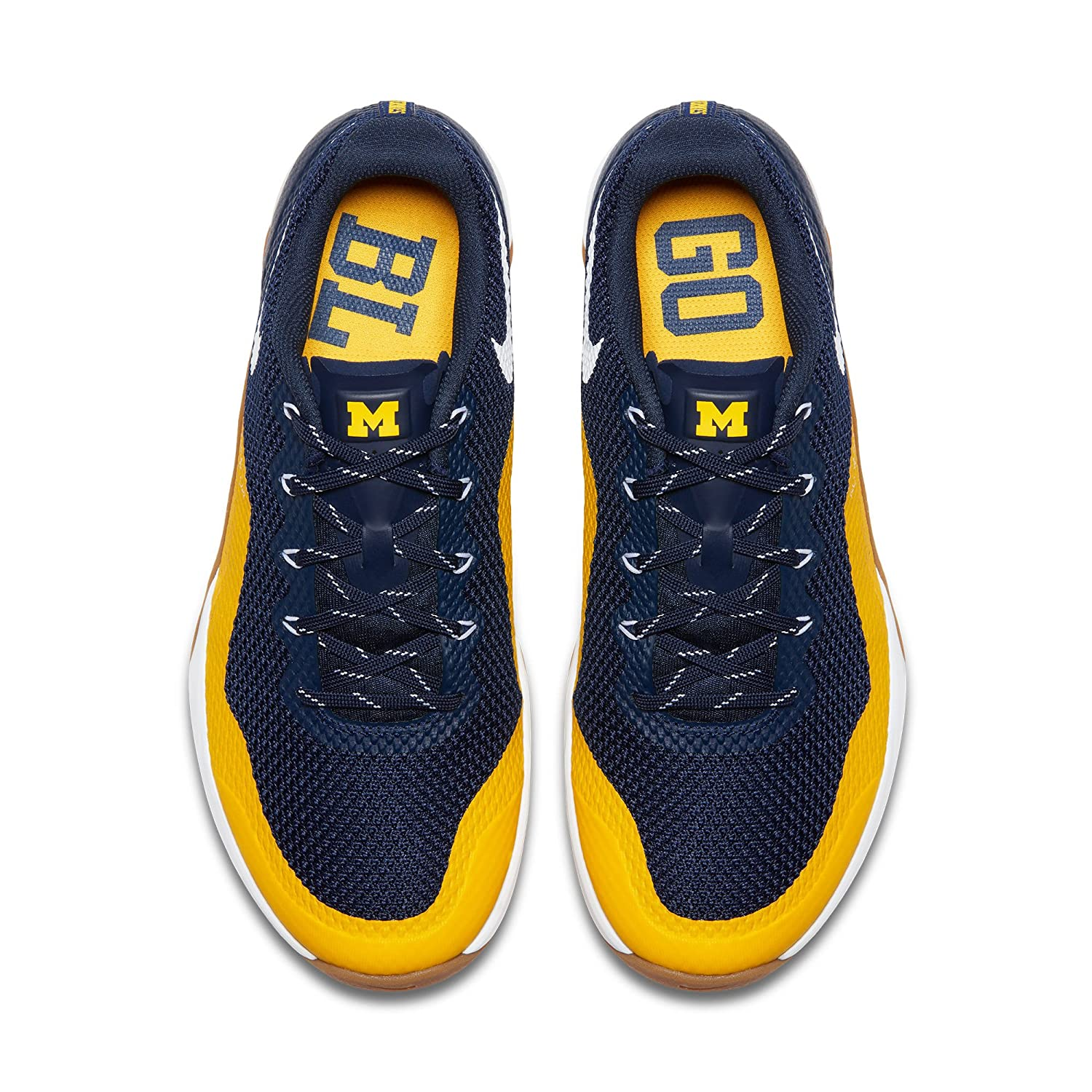 Nike Michigan Wolverines Metcon Repper DSX College Shoes - Size Men's 7 M US:  Amazon.ca: Clothing & Accessories
