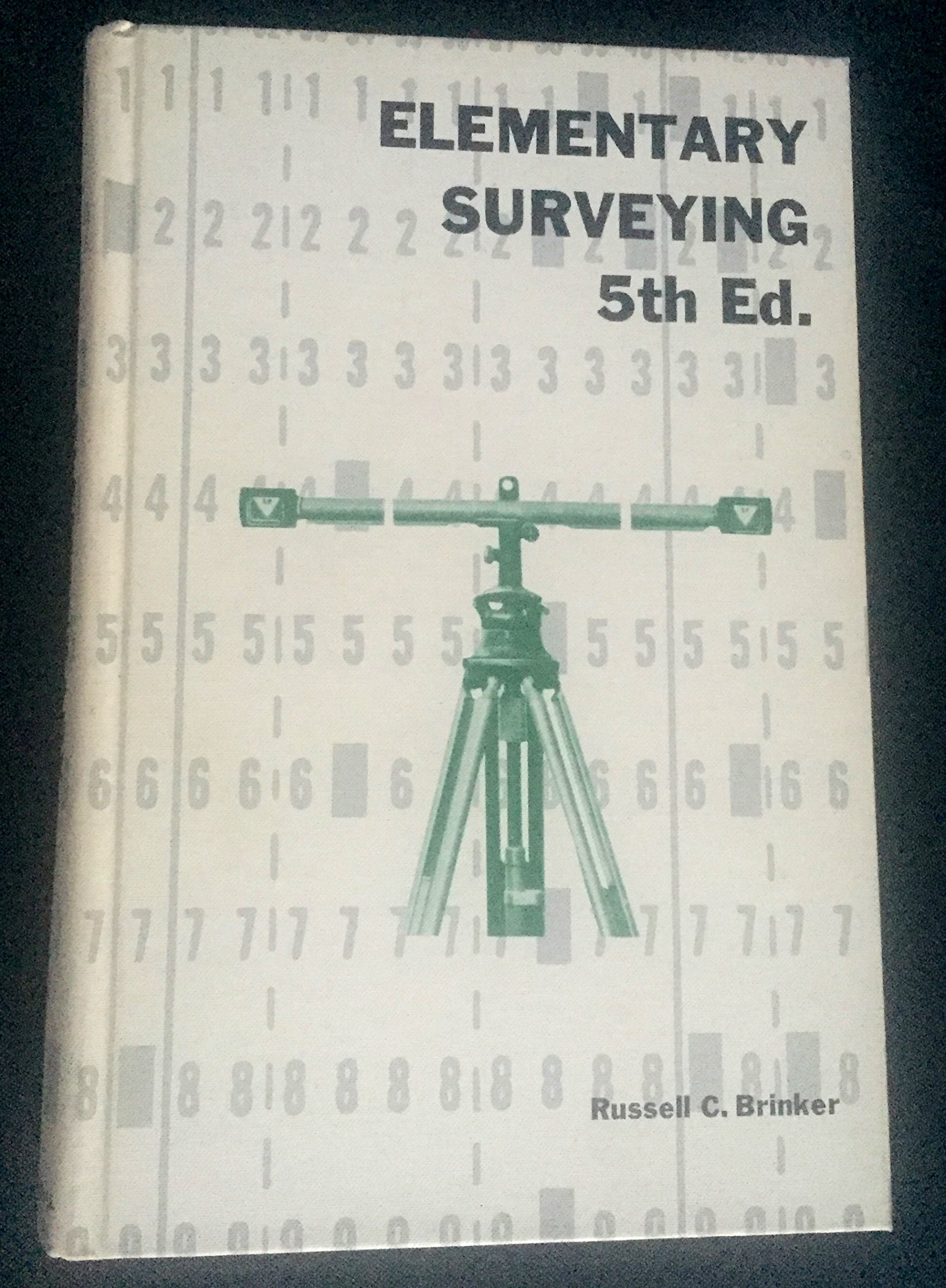 Elementary Surveying: Russell C. Brinker, Paul R. Wolf: 9780700201150:  Amazon.com: Books