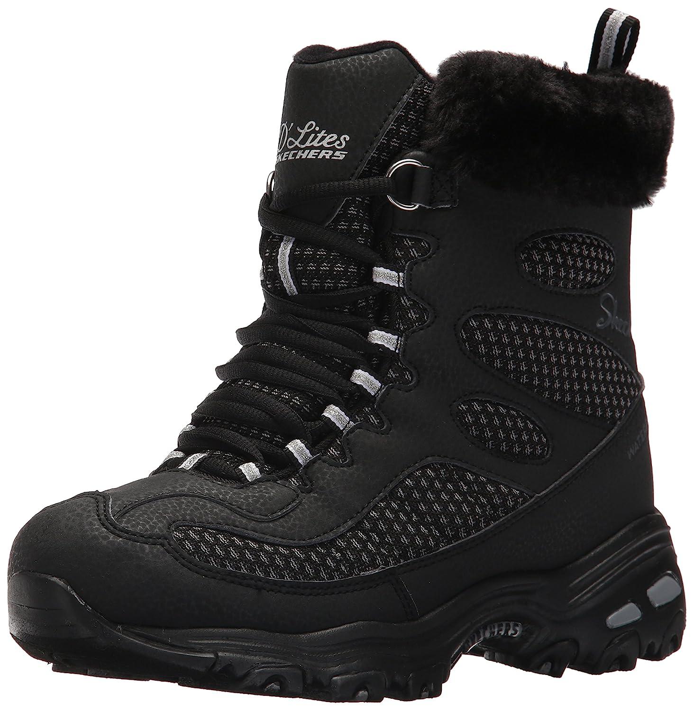 Skechers Women's B06XCXW91X D'Lites Winter Boot B06XCXW91X Women's 9.5 B(M) US|Black 67848b