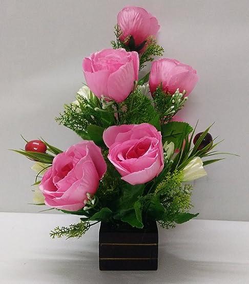 Buy Ethnic Karigari Home Decor Designer Decorative Flower Vase for ...