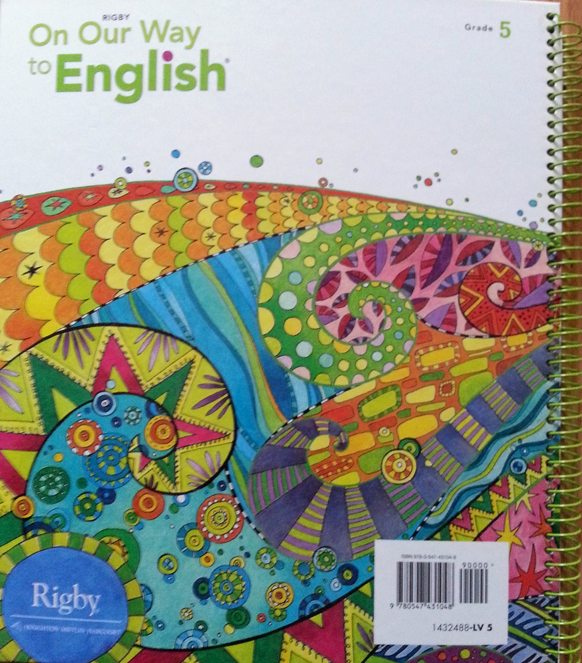 On Our Way to English Leveled Reading TX Teacher's Guide, grade 5: Rigby:  9780547431048: Amazon.com: Books
