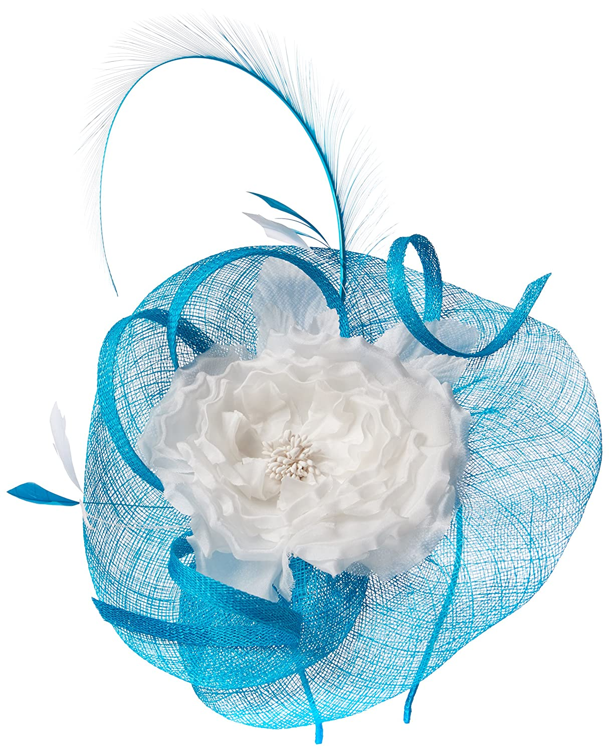 Jacques Vert Damen Stirnband Two Tone Flower Fascinator