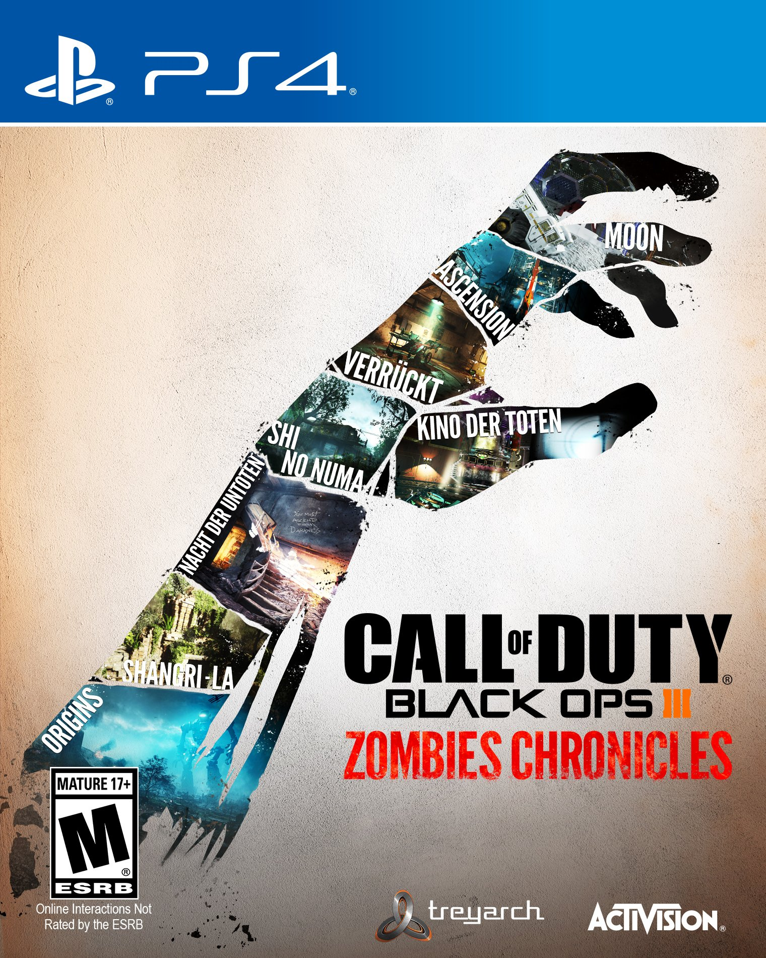 Amazoncom Call Of Duty Black Ops Iii Zombies Chronicles Ps4