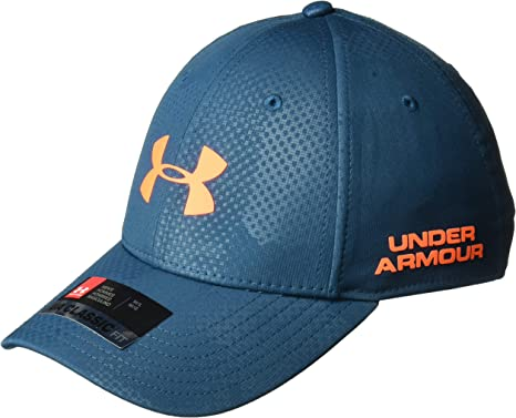 Under Armour Mens Golf Headline 2.0 Tapa, Techno Teal/Magma ...