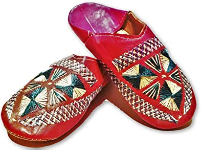 3df88726ac1f1 Amazon.com | Moroccan Babouche Flat Leather Handmade Shoes ...