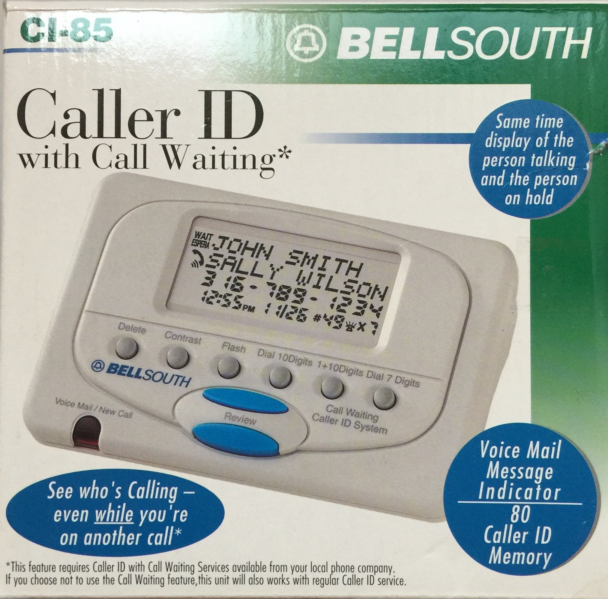 Bellsouth Ci-85 Caller Id with Call Waiting by BellSouth