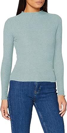 Only Onlemma L/S High Neck Top Noos Jrs Camisa Manga Larga para Mujer